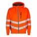 Толстовка сигнальная Engel Safety Sweat Cardigan 8025-241 сигнальный оранжевый/серый