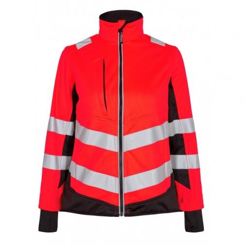 Женская сигнальная куртка Engel Safety 1156-237 сигнальный красный/черный