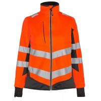 Женская сигнальная куртка Engel Safety 1156-237 оранжевый/серый