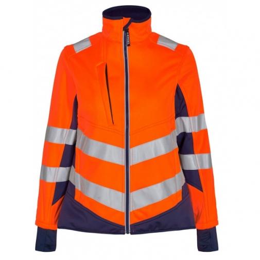 Женская сигнальная куртка Engel Safety 1156-237 сигнальный оранжевый/синий