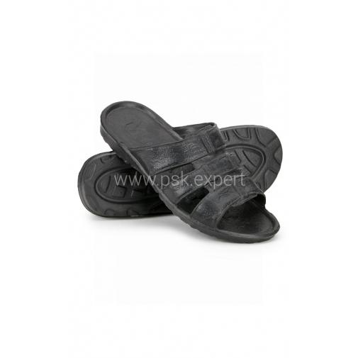 Тапочки ЭВА пляжные цвет черный