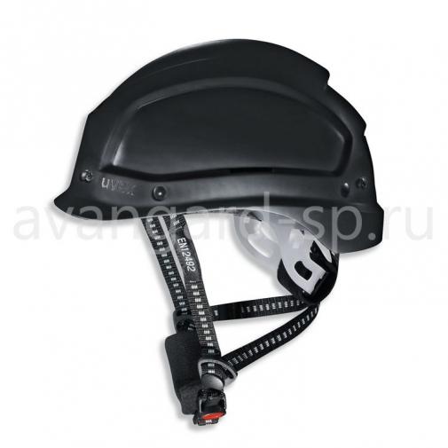 Каска защитная UVEX Феос Алпайн (черная) (9773950)