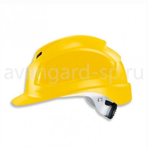 Каска защитная UVEX Феос B-WR (желтая) (9772130)