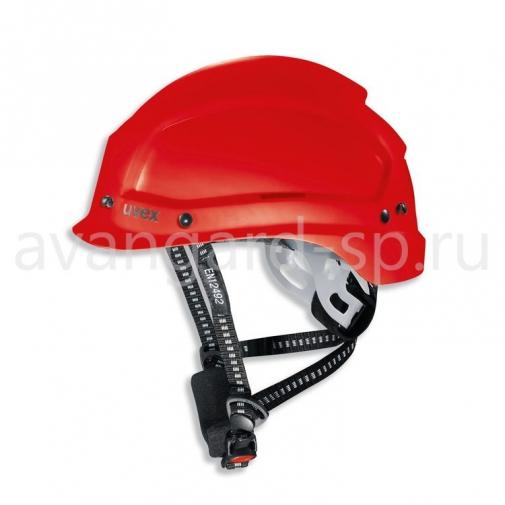Каска защитная UVEX Феос Алпайн (красная) (9773350)